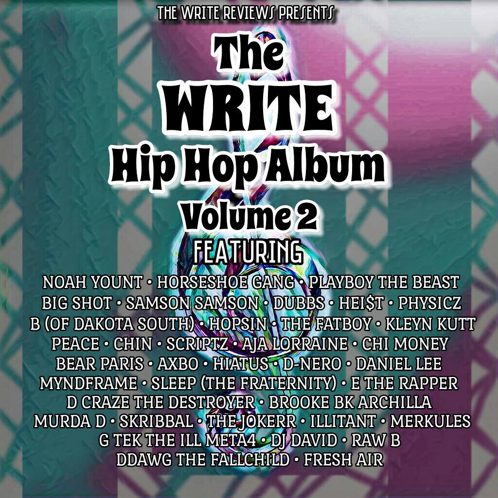 The Write Hip Hop Album Vol  2 – THE WRITE REVIEWS